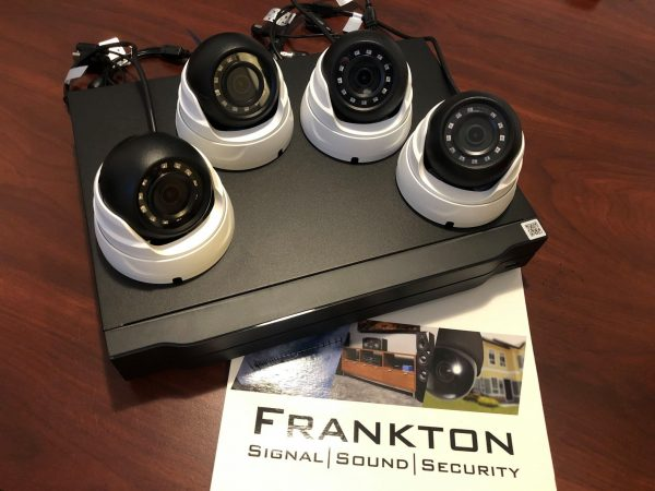 4 camera security system