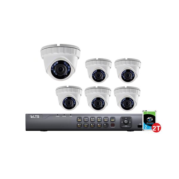 6 camera security system