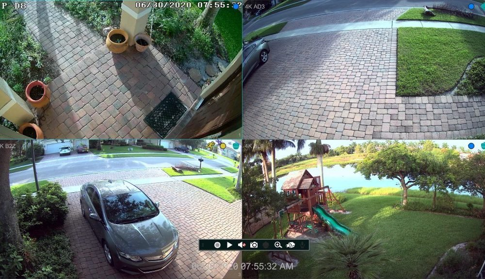 Full HD 1080p 2MP Security Video System