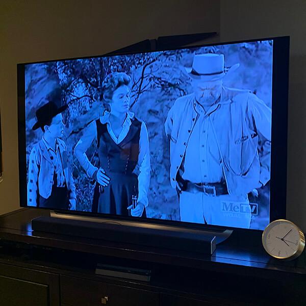 New Large TV Setup