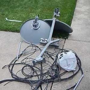 Satellite Dish Removal