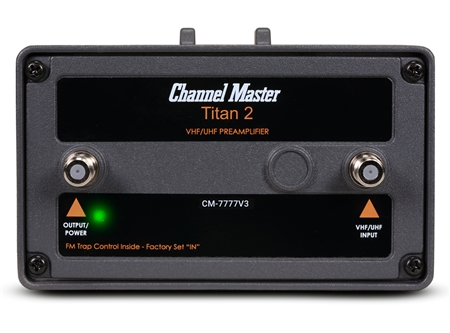 Channel Master CM-7777V3 Titan 2 High Gain Preamplifier